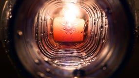 Φως στο τέλος της σήραγγας Στοκ εικόνες με δικαίωμα ελεύθερης χρήσης