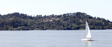 Νησί αγγέλου, κόλπος του Σαν Φρανσίσκο Στοκ εικόνα με δικαίωμα ελεύθερης χρήσης