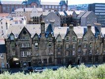 Старый городок в Эдинбурге, Шотландии Стоковое фото RF