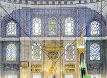新的清真寺在法提赫,伊斯坦布尔 免版税库存图片