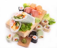 寿司 免版税图库摄影