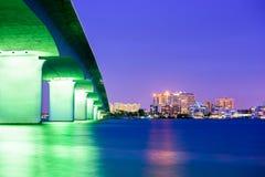 萨拉索塔,佛罗里达 免版税库存图片
