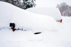 Похороненные автомобили Стоковая Фотография