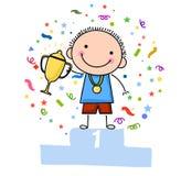 Медаль ребенк Стоковое Изображение