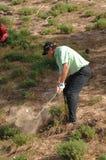 布赖恩・迪维斯英语高尔夫球 库存照片