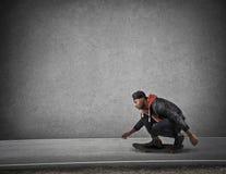 滑板 免版税库存图片
