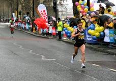бегунки марафона Стоковая Фотография RF