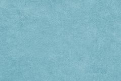 水色颜色两端有绒穗之布 免版税库存图片