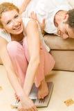 夫妇称年轻人 免版税库存图片
