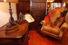 Домашняя библиотека Стоковая Фотография