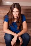 ματαιωμένο κορίτσι Στοκ εικόνα με δικαίωμα ελεύθερης χρήσης