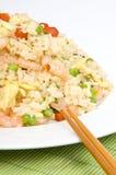 шримс зажаренного риса Стоковые Фото