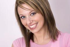 φωτεινό χαμόγελο Στοκ εικόνα με δικαίωμα ελεύθερης χρήσης