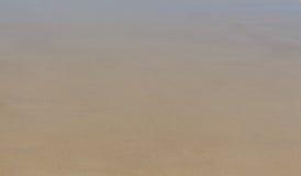 湿的沙子 库存照片
