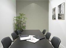 τρισδιάστατη απόδοση του δωματίου γραφείων Στοκ εικόνα με δικαίωμα ελεύθερης χρήσης