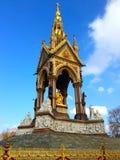 阿尔伯特纪念伦敦英国 库存照片