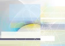 抽象工程学概念 免版税库存照片
