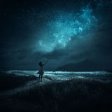 Хваление ночи Стоковая Фотография RF