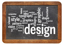 图形设计词云彩 库存照片