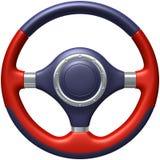 Рулевое колесо автомобиля Стоковое фото RF