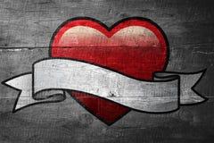 Составное изображение сердца с переченем Стоковые Изображения