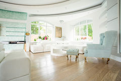 Πολυθρόνα στο εκλεκτής ποιότητας ύφος Στοκ Εικόνες