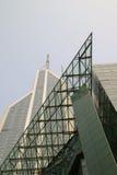 抽象大厦图象 免版税库存照片