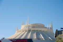 迪斯尼乐园的太空山 库存照片