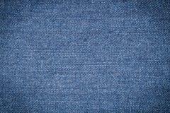 текстура голубого демикотона Стоковые Фото