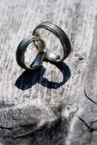 γάμος δαχτυλιδιών Στοκ εικόνες με δικαίωμα ελεύθερης χρήσης