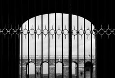 门 免版税图库摄影