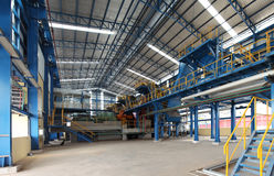 Фабрика сахарного завода Стоковые Изображения RF