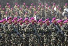 印度尼西亚语陆战队 库存照片