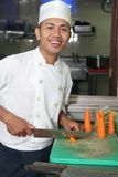 шеф-повар моркови Стоковые Изображения