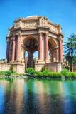 艺术宫殿在旧金山 免版税库存照片