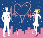 Биение сердца валентинки Святого Стоковая Фотография RF