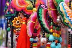 Шэньчжэнь, Китай: ювелирные изделия женщин Стоковые Изображения RF