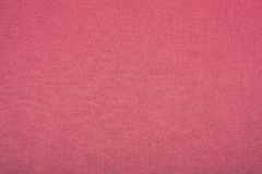 亚麻制红色布料作为巨大纹理 库存照片