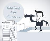 寻找成功 免版税图库摄影