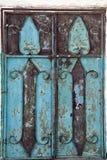 πόρτα σκουριασμένη Στοκ φωτογραφία με δικαίωμα ελεύθερης χρήσης