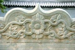 传统中国的建筑 免版税库存照片