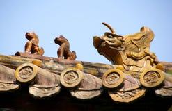 天堂寺庙 免版税库存照片