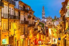 Παλαιά άποψη πόλεων του Πόρτο, Πορτογαλία Στοκ Εικόνα
