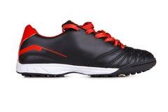 红色鞋子体育运动 免版税库存照片