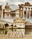 古老罗马 库存图片