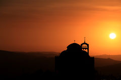 Собор в Ливане Стоковое фото RF