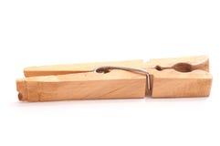 καρφίτσα ενδυμάτων ξύλινη Στοκ φωτογραφίες με δικαίωμα ελεύθερης χρήσης