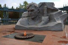 划分为的纪念碑战士 免版税图库摄影