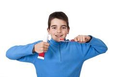 牙齿卫生学 免版税库存图片
