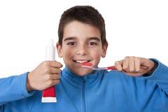 牙齿卫生学 免版税库存照片